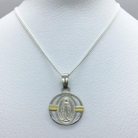 41e729204d2 Medalla Milagrosa De Oro Y Plata - Joyas y Bijouterie en Mercado ...