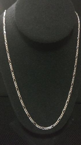 cadena plata fina 925 3*1 para mujer hombre unisex 70cm