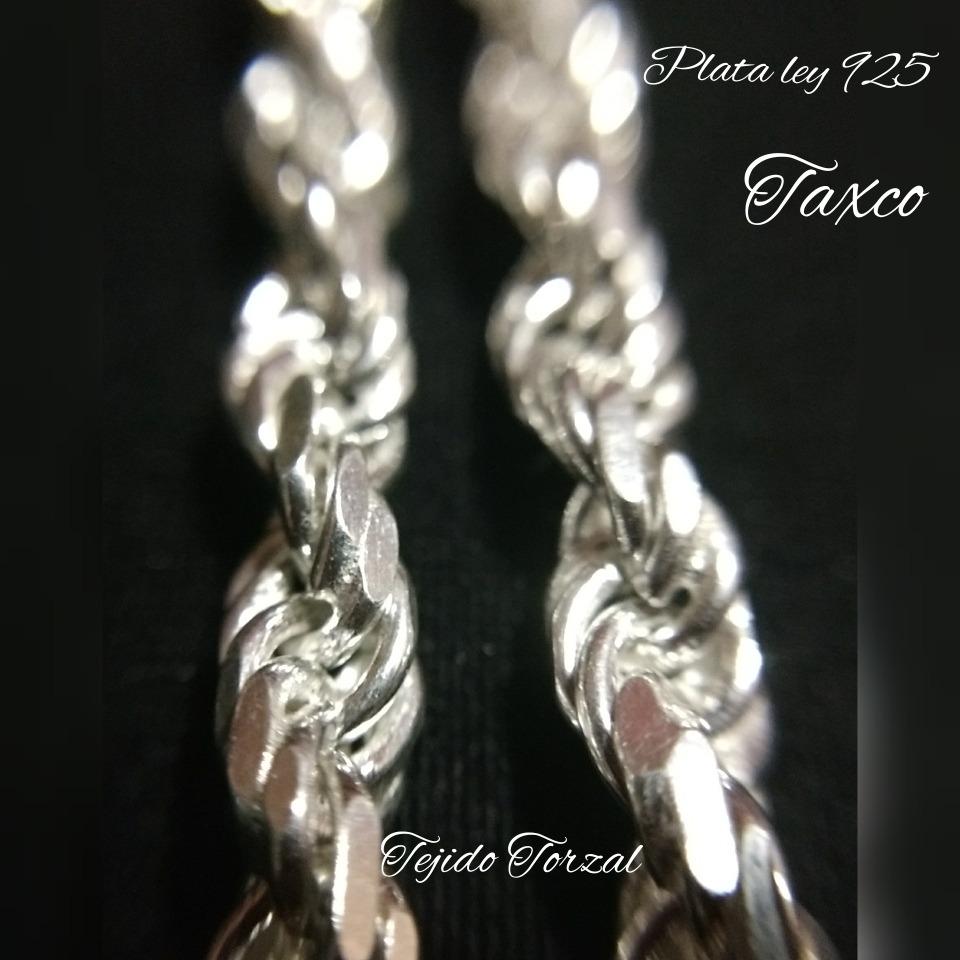 1cd4c6acb205 cadena plata fina 925 caballero torzal gruesa hombre 55cm. Cargando zoom.