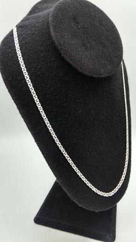 cadena plata fina 925 estilo gucci 55cm unisex hombre mujer
