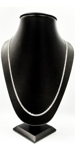 cadena plata fina 925 estilo gucci hombre mujer unisex 60cm