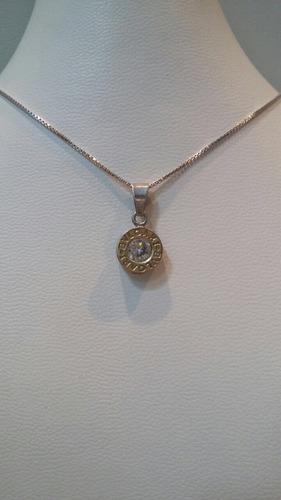 cadena plata oro