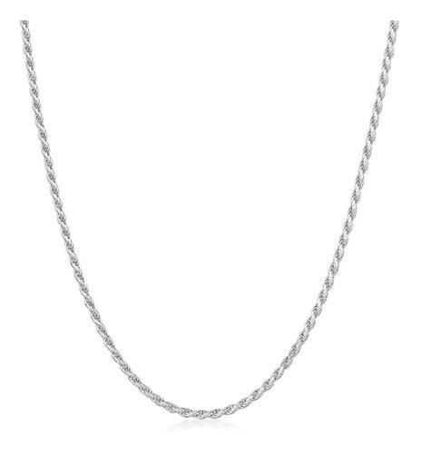 cadena plata925 soga mujer 2mm x 50cm
