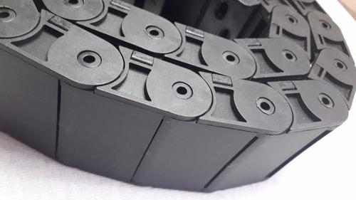 cadena porta cables 18x50mm, abierta, 1 metro envio gratis