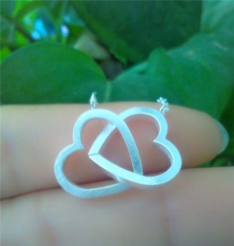 cadena regalo inolvidable union de corazones infinito! cuo