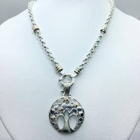 d6e7c55a1c55 Cadena De Oro Blanco Para Mujer Con Dije - Joyas y Bijouterie en ...