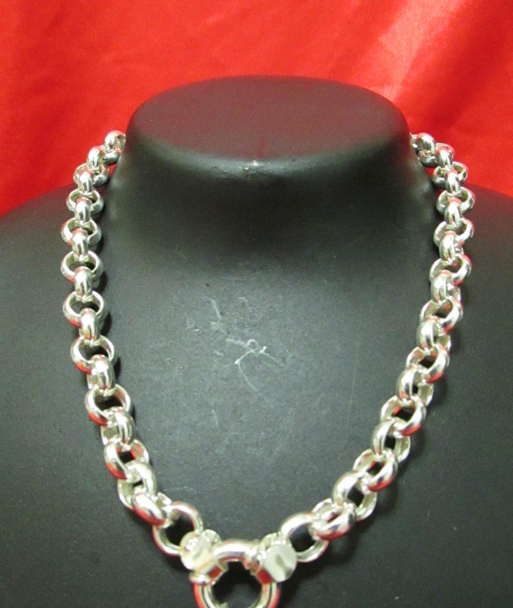 Collares de plata rolo