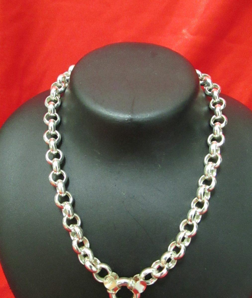565e37bb2e8d cadena rolo plata 925 eslabon 12mm de grosor 50 cm largo. Cargando zoom.