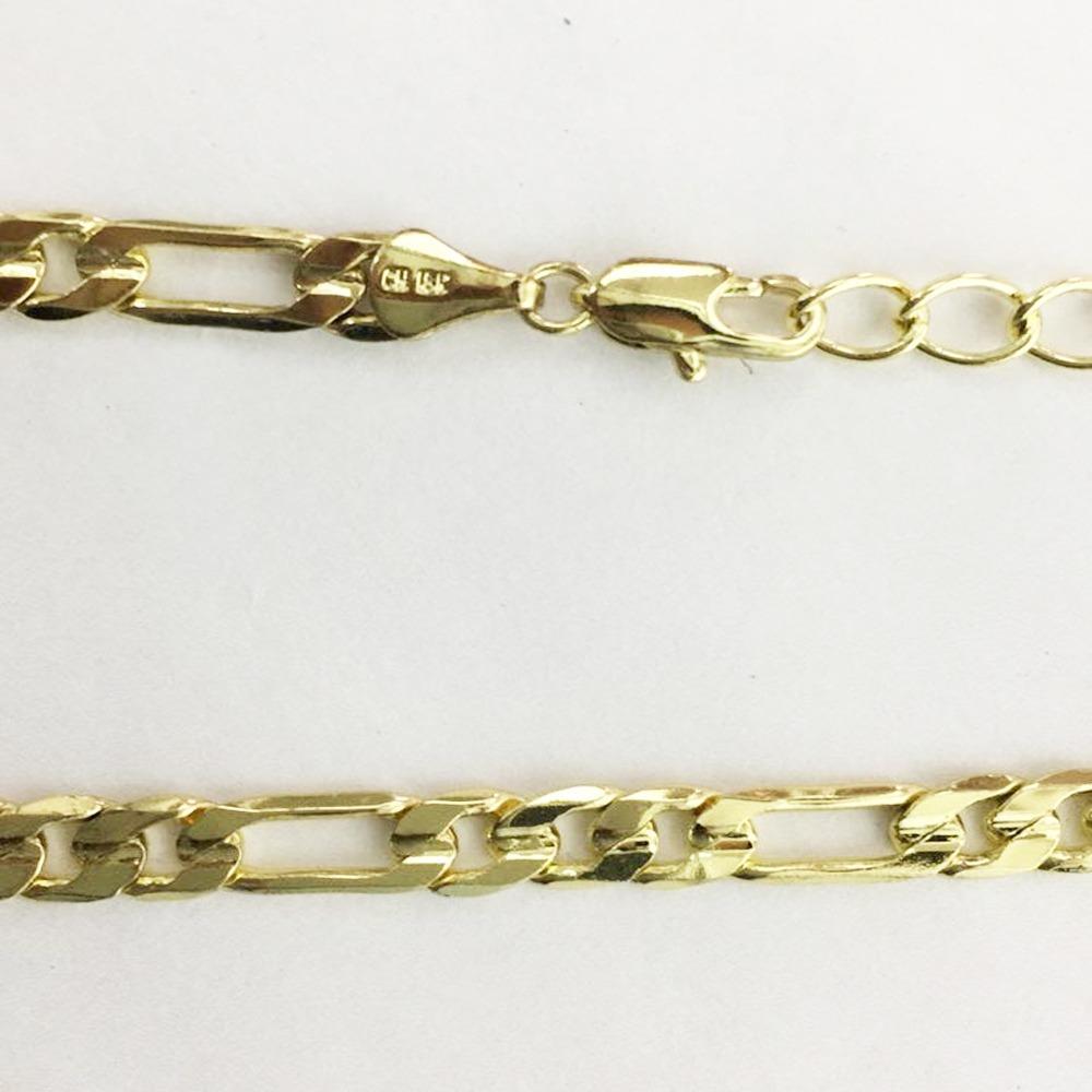 bba88c6247a3 Cadena Tipo Cartier Chapa De Oro Unlimited 63cm