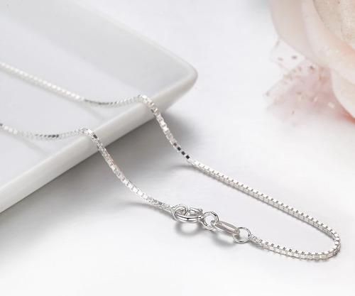 cadena veneciana plata 925 mujer