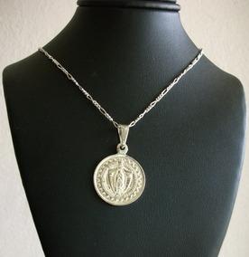 f38706840122 Medalla En Plata De La Virgen Del Carmen en Estado De México en Mercado  Libre México
