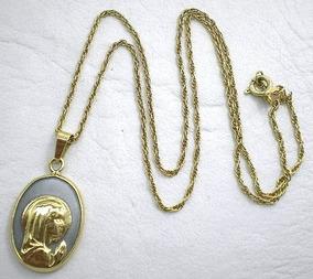 918e694ac62a Espectacular Medalla Virgen Niña Oro - Joyas y Relojes en Mercado Libre  Argentina