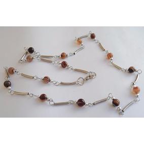 a988b78602c4 Collares Bijouterie Piedras Semipreciosas   Perlas   Raso - Joyas y Relojes  en Mercado Libre Argentina