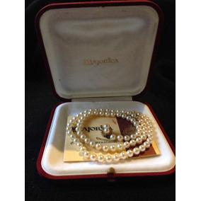 4e82ff35f63f Antiguo Collar Perlas Sayonara En Caja Original Decada 50 - Joyas y Relojes  en Mercado Libre Argentina