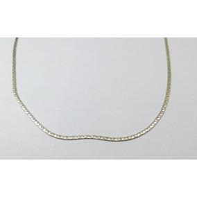 87c4aaca8638 Collar Serpiente Plana Plano De Plata - Cadenas y Collares en ...