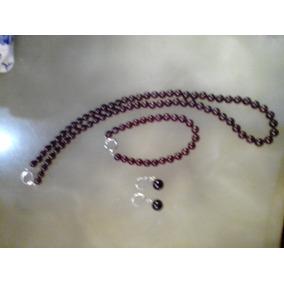 66e43055b1e6 Aros Perlas Cultivadas Naturales 8mm - Joyas y Bijouterie en Mercado ...