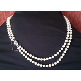 204ead293981 Vendo Collar De Perlas Cultivadas Con Broche De Oro - Joyas y Relojes en  Mercado Libre Argentina