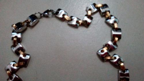 cadenas de caballero acero inoxidable 60 cms