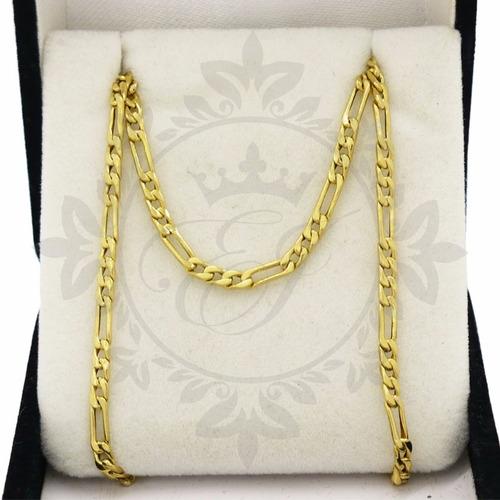 cadenas de oro 18 k hombre 3y1 - 4.7 grs -60 cm,envio gratis