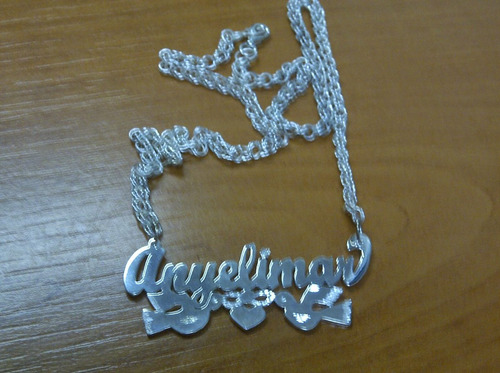 cadenas en plata 925 con su nombre