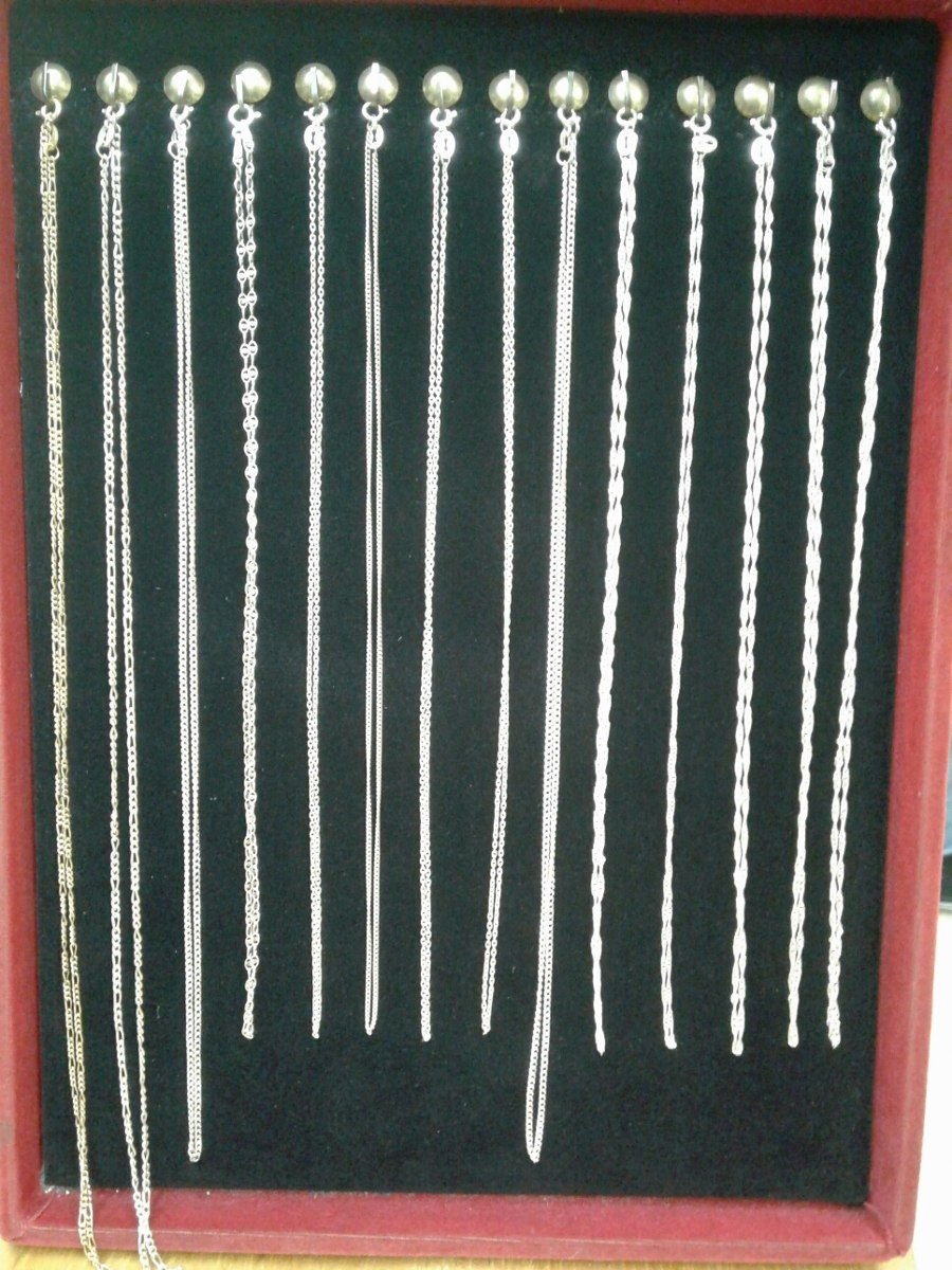 0737fb68ea6 cadenas finitas para dama plata italiana ley 925 garantizada. Cargando zoom.