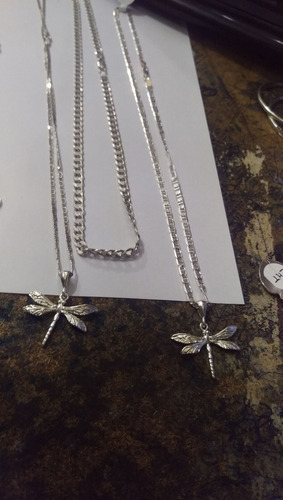cadenas, guillos, argollas y anillos en plata (leer descrip