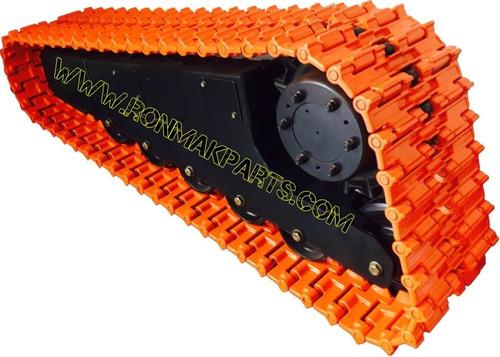 cadenas metalicas para minicargadores  mustang mtl16