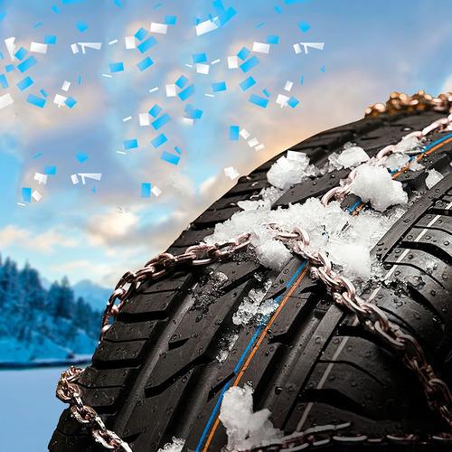 cadenas nieve camioneta