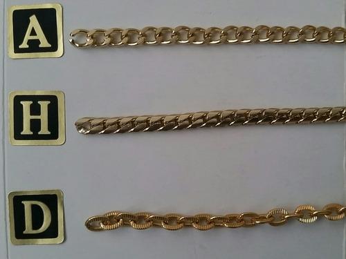 cadenas para carteras y bisutería  de aluminio