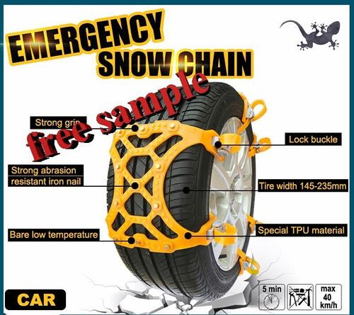 cadenas para nieve  y barro universal plastico