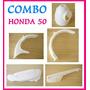Combo Honda 50 (guardabarros + Falsotanque + Cubrecadena+...