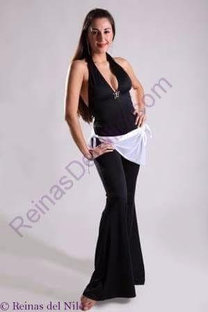 caderín microtull tipo pañuelo ajustable danza arabe belly d