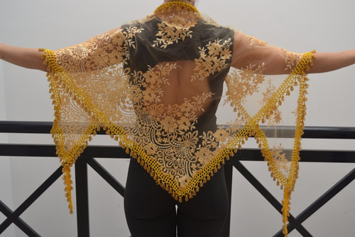 caderines danzas árabes importados dorado tela microtull