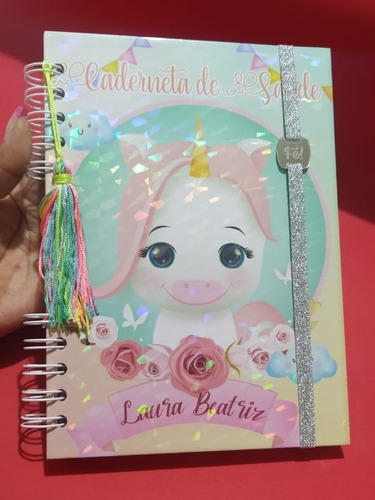 caderneta de saúde personalizada