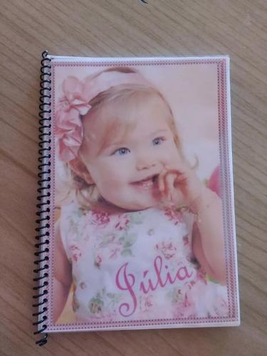 caderneta de vacina personalizado com foto do seu bebê