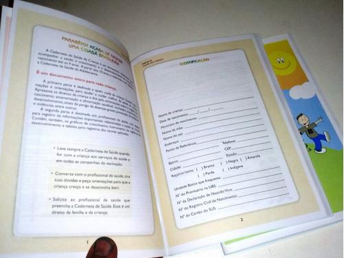 caderneta de vacinação. caderno de vacina. versão 11° 2018