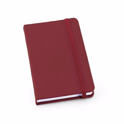 caderneta tipo moleskine - bloco de anotações - un