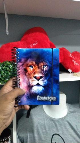 caderninho de anotações, estampado.