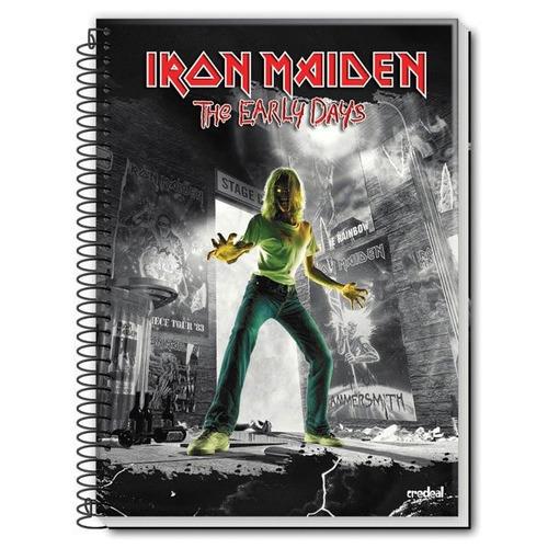 caderno 1 materia 2017 iron maiden 96 f  c/03 credeal