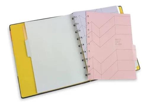 caderno allegro ultra system flex - ótima