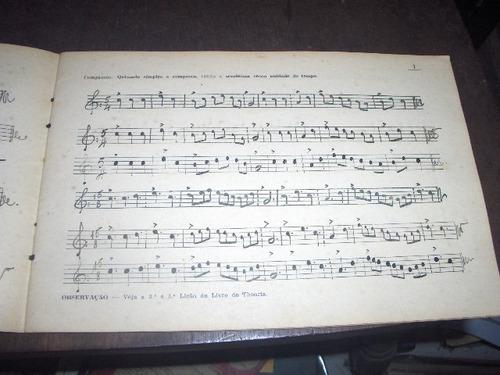 caderno antigo de caligrafia musical samuel arcanjo