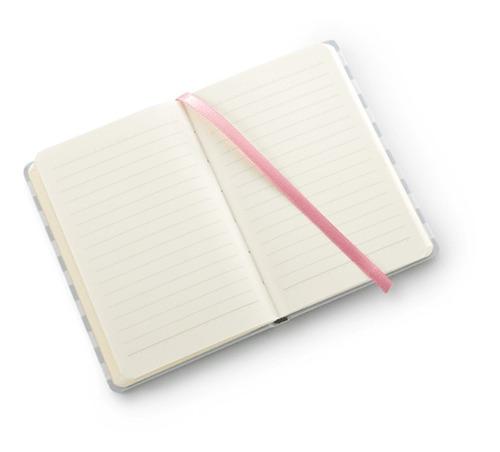 caderno bullet journal pautado papertalk mini la bela - ótim