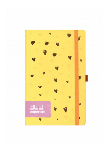 caderno bullet journal pontilhado papertalk maxi romantic am