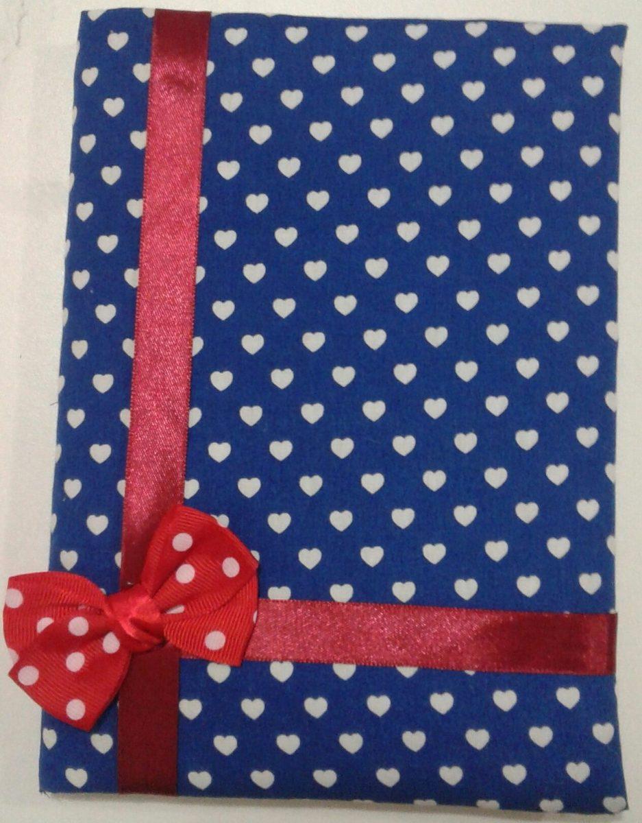 Caderno Customizado Com Manta E Tecidos R 1500 Em Mercado Livre