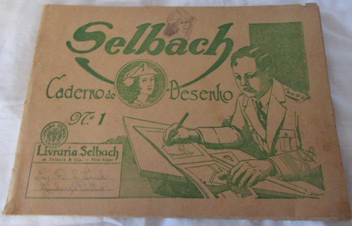 Caderno De Desenho Antigo Com Desenhos Pessoais A53 R 45 00