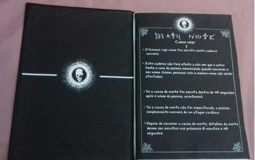 caderno death note - frete gratis!