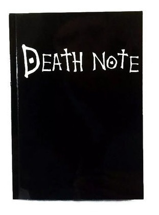 caderno death note l kira ryuk anime livro morte black