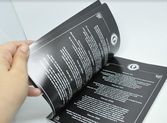 caderno death note livro regras em portugues colar gratis r 29