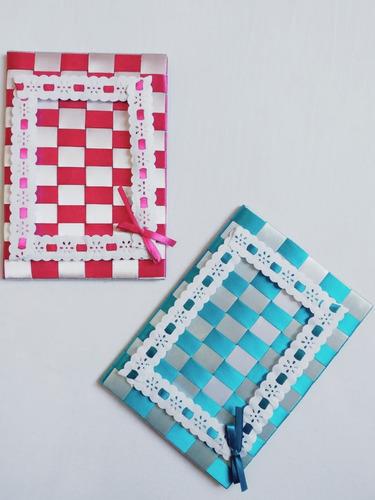 caderno decorado com fitas de cetim