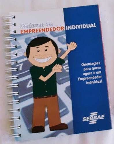 caderno do empreendedor individual-mei orientações do sebrae